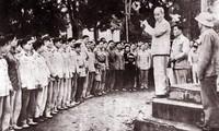 Feier zum 65. Jahrestag, an dem Präsident Ho Chi Minh Brief an Polizei schickte