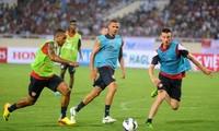Arsenal gegen Vietnam: beide sind bereit für ein Freundschaftsspiel