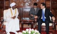 Staatspräsident Truong Tan Sang empfängt neue Botschafter