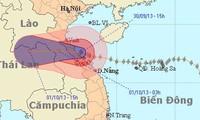 Stärkster Taifun seit 2006 zieht nach Zentralvietnam