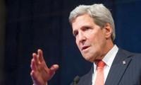 US-Außenminister hofft auf die Teilnahme Syriens an Friedenskonferenz in Genf