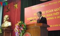 Konferenz zur Umsetzung des neuen Parteibeschlusses geht zu Ende
