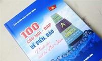 Werbung für Inseln und Meer durch Bücher
