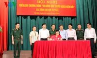 Staatspräsident Truong Tan Sang: Das Leben der Bewohner an der Grenze soll verbessert werden