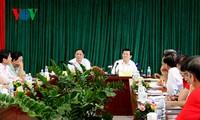 Staatspräsident lobt das vietnamesische Rote Kreuz für die Arbeit im ersten Halbjahr
