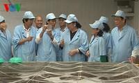 Vizeparlamentspräsidentin Tong Thi Phong besucht Bac Lieu
