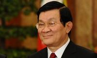 Staatspräsident Truong Tan Sang trifft neue ausländische Botschafter