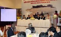 Eröffnung des Forums für Mekong-Delta 2015