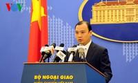 Pressekonferenz des Außenministeriums