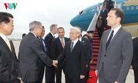 Der USA-Besuch des KPV-Generalsekretärs markiert eine Wende in USA-Vietnam-Beziehung