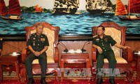 Armeen Vietnams und Kambodschas arbeiten beim Informationsaustausch zusammen