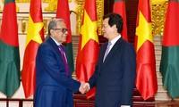 Premierminister Nguyen Tan Dung trifft Bangladeschs Präsident Abdul Hamid