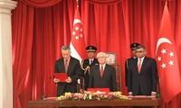 Neues Kabinett in Singapur vereidigt sich
