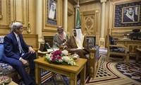 US-Außenminister reist nach Saudi-Arabien für Diskussion über Syrien
