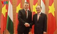 Kooperation zwischen Parlamenten Vietnams und Ungarns verstärken