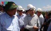 Vizepremierminister Nguyen Xuan Phuc leitet die Bekämpfung gegen Dürren in Ninh Thuan ein