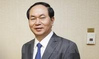 Staatspräsident Tran Dai Quang trifft vorbildliche vietnamesische Unternehmer
