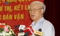 Konferenz zur Umsetzung des Parteibeschlusses über Propaganda