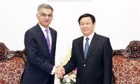 Bank Standard Chartered hilft Vietnam weiterhin bei Wirtschaftsfragen
