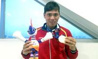 Schwimmer Vo Thanh Tung gewinnt Silbermedaille bei Paralympics 2016 in Rio