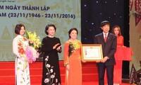 Parlamentspräsidentin nimmt an Feier zum 70. Gründungstag des Vietnamesischen Roten Kreuzes