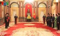 Staatspräsident Tran Dai Quang ernennt drei neue Botschafter