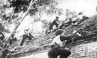 Erinnerungen an Hanoi im Winter 1946 durch geschichtliche Gegenstände