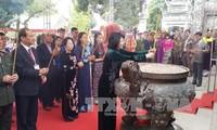 Vizestaatspräsidentin nimmt an Feier zum 1977. Jahrestag des Hai Ba Trung-Widerstands teil
