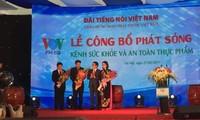 Eröffnung des Kanals für Gesundheit und Lebensmittelhygiene von VOV