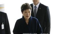 Ende der Befragung von entmachteter Präsidentin Park Geun-hye