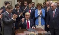 US-Präsident zufrieden mit Ergebnissen seiner 100 Tage im Amt