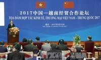Staatspräsident nimmt an Vietnam-China-Forum für Wirtschafts- und Handelszusammenarbeit teil