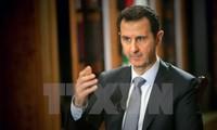 Syrischer Präsident will keine Beziehungen zu Rebellen-Unterstützern