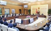 Parlamentspräsidentin empfängt junge japanische Parlamentarier