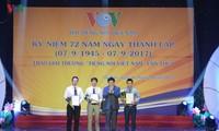 """Feierlichkeiten zum 72. Gründungstag des Senders """"Stimme Vietnams"""""""