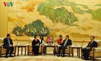 Chinas PKKCV beachtet die Verstärkung der Beziehungen zur Vaterländischen Front Vietnams