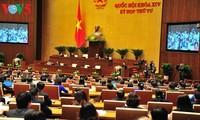 Finanzminister Dinh Tien Dung berichtet Parlament die Umsetzung des Staatsbudgets 2017