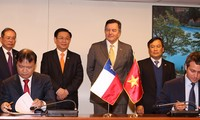 Vizepremierminister Vuong Dinh Hue schließt seinen Chile-Besuch ab