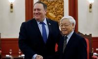 Intensivierung der umfassenden Partnerschaftszusammenarbeit zwischen Vietnam und USA