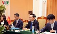 Gespräch auf Außenministerebene Vietnams und Argentiniens