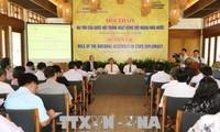 Seminar über Rolle des Parlaments in Staatsdiplomatie