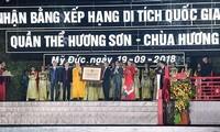 Der Komplex Huong Son wird als besondere nationale Gedenkstätte anerkannt