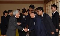 Premierminister Nguyen Xuan Phuc und Staatschefs der Mekongländer treffen Japans König und Kronprinz