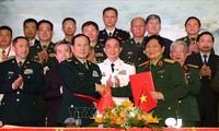 Freundschaftsaustausch an der Grenze zwischen Vietnam und China
