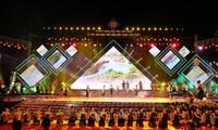 Eröffnung des 1. Brokat-Festes in Vietnam