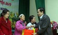 Hochrangige Politiker beglückwünschen Provinzen zum Tetfest