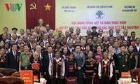 Die Parlamentspräsidentin fordert die Anerkennung der wichtigen Rolle von Dorfältesten ethnischer Minderheiten