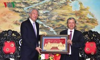 Singapurs Vizepremierminister und und Minister für die Koordination der nationalen Sicherheit besucht Hue