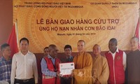 Vietnamesischer Buddhistenverband überreicht Hilfsgüter an Opfer des Zyklons Idai in Mosambik