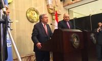 UN-Generalsekretär und Ägyptens Präsident sprechen über Krisen in arabischen Ländern